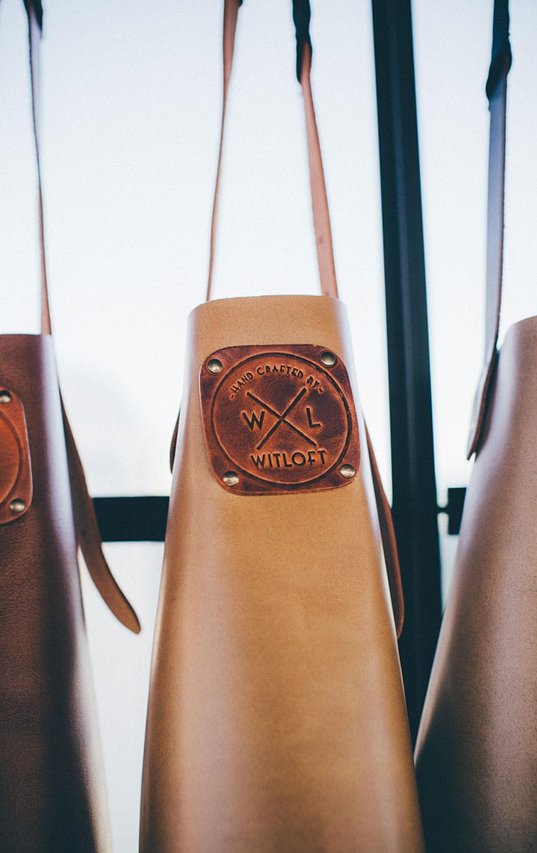 WITLOFT Big Feastival Story leather apron