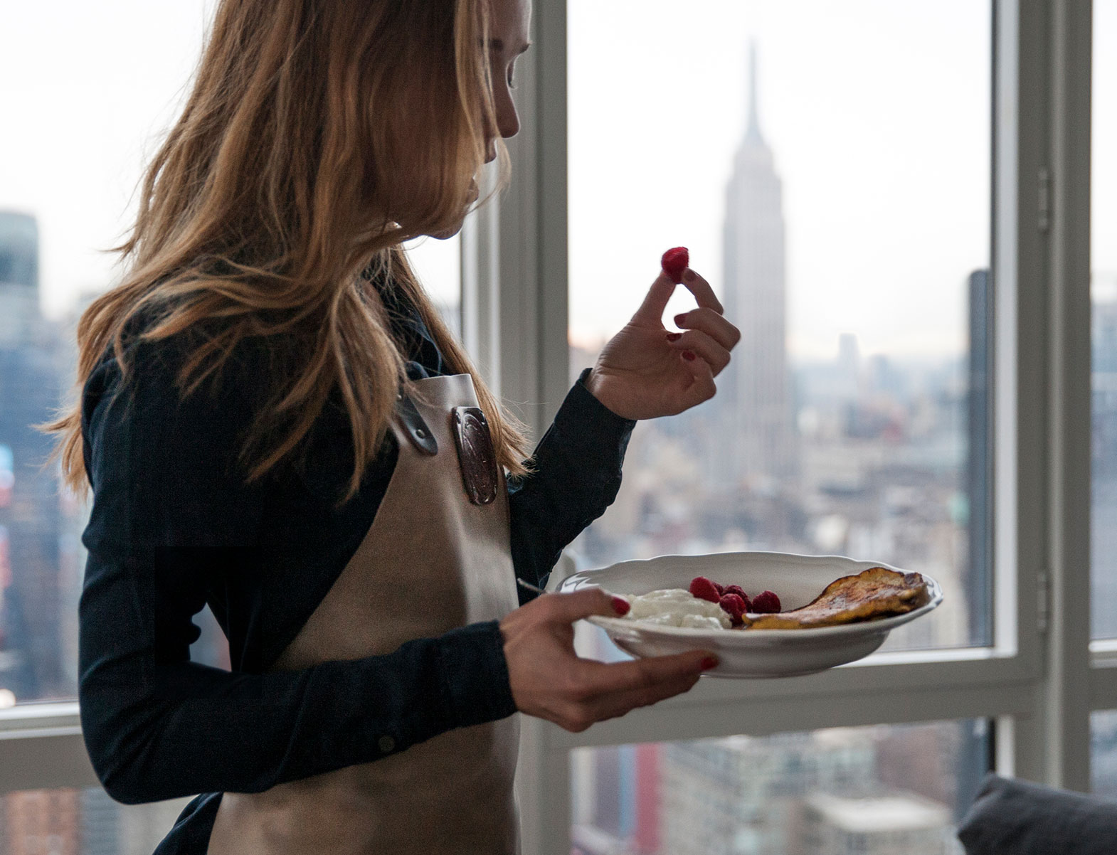 WITLOFT Penthouse in NYC Story woman in an apron